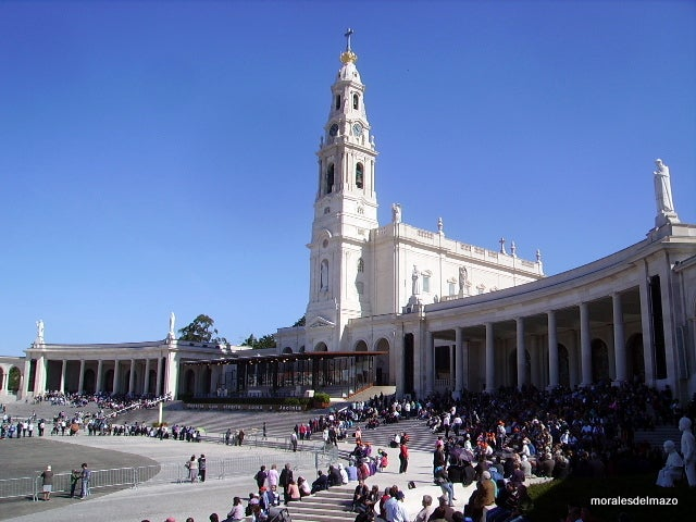 Mecca in Basilica of Our Lady of the Rosary of Fatima