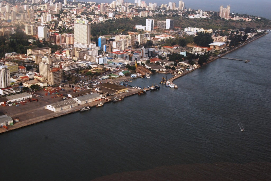 Maputo from the Air