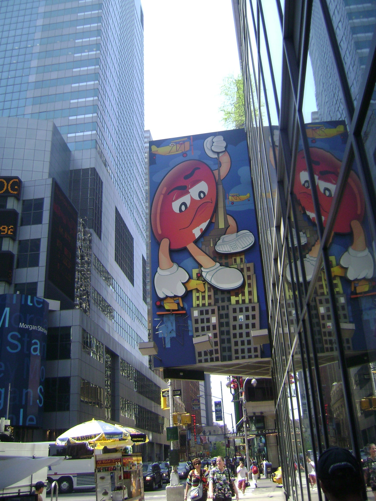 Paisaje urbano en M&M'S World