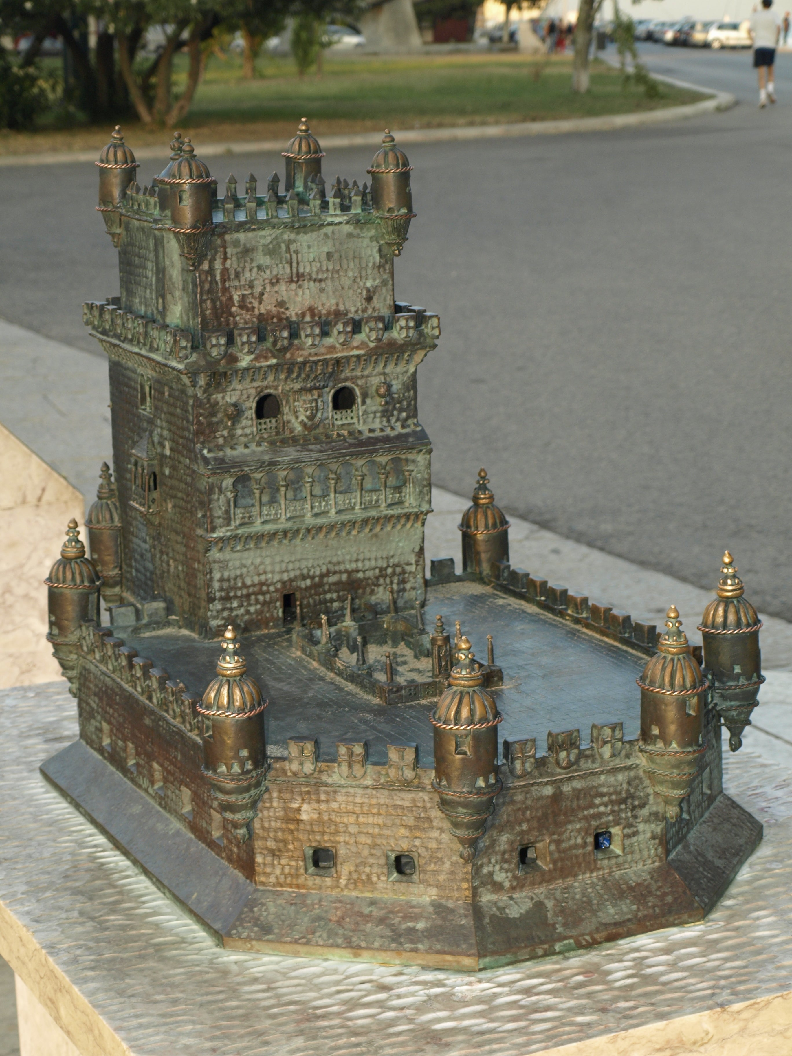 Town in Belém Tower