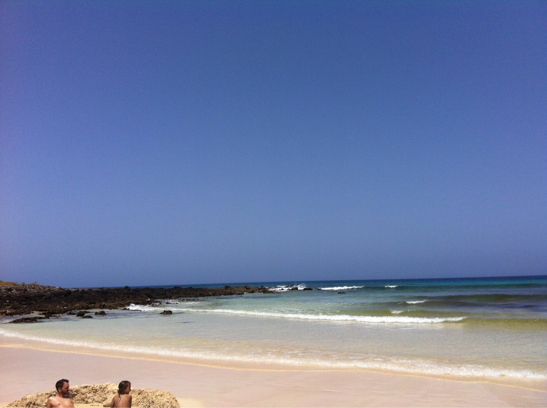 Mar en Playa de Corralejo