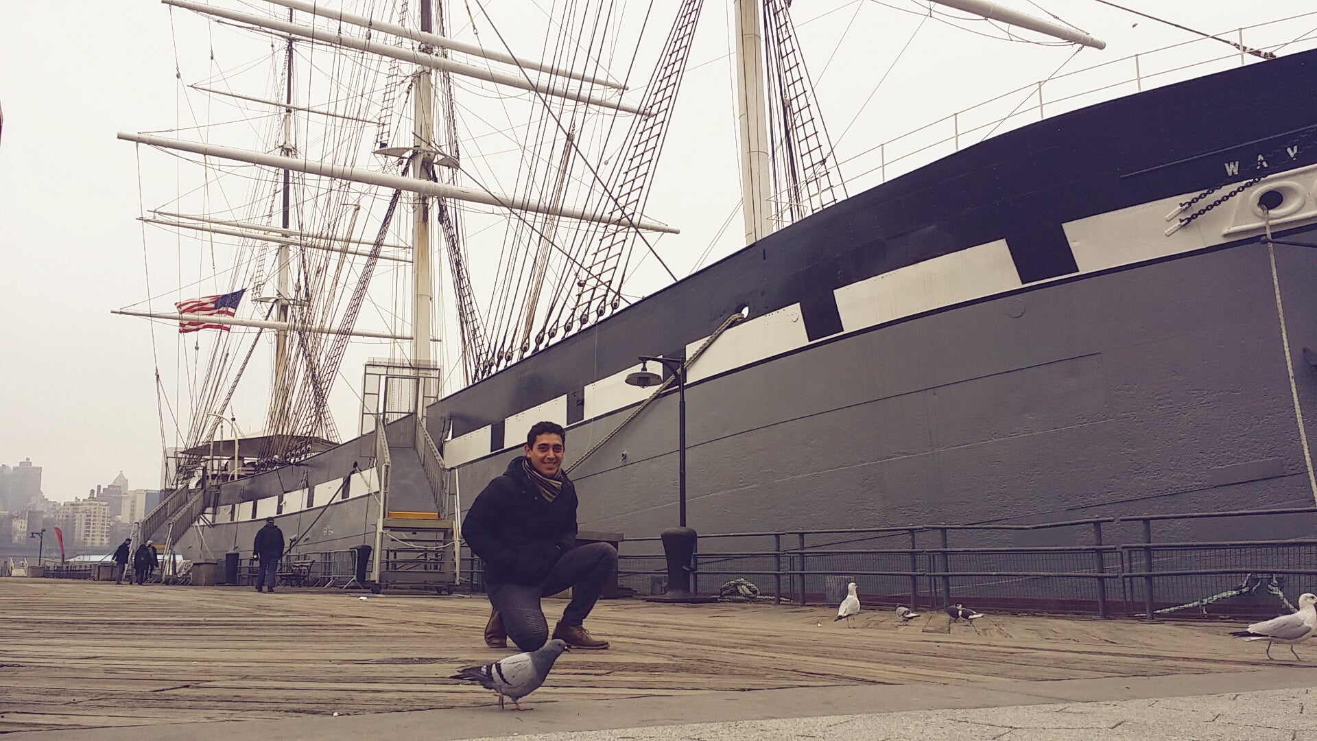 Paseo en el velero Clipper City Tall Ship