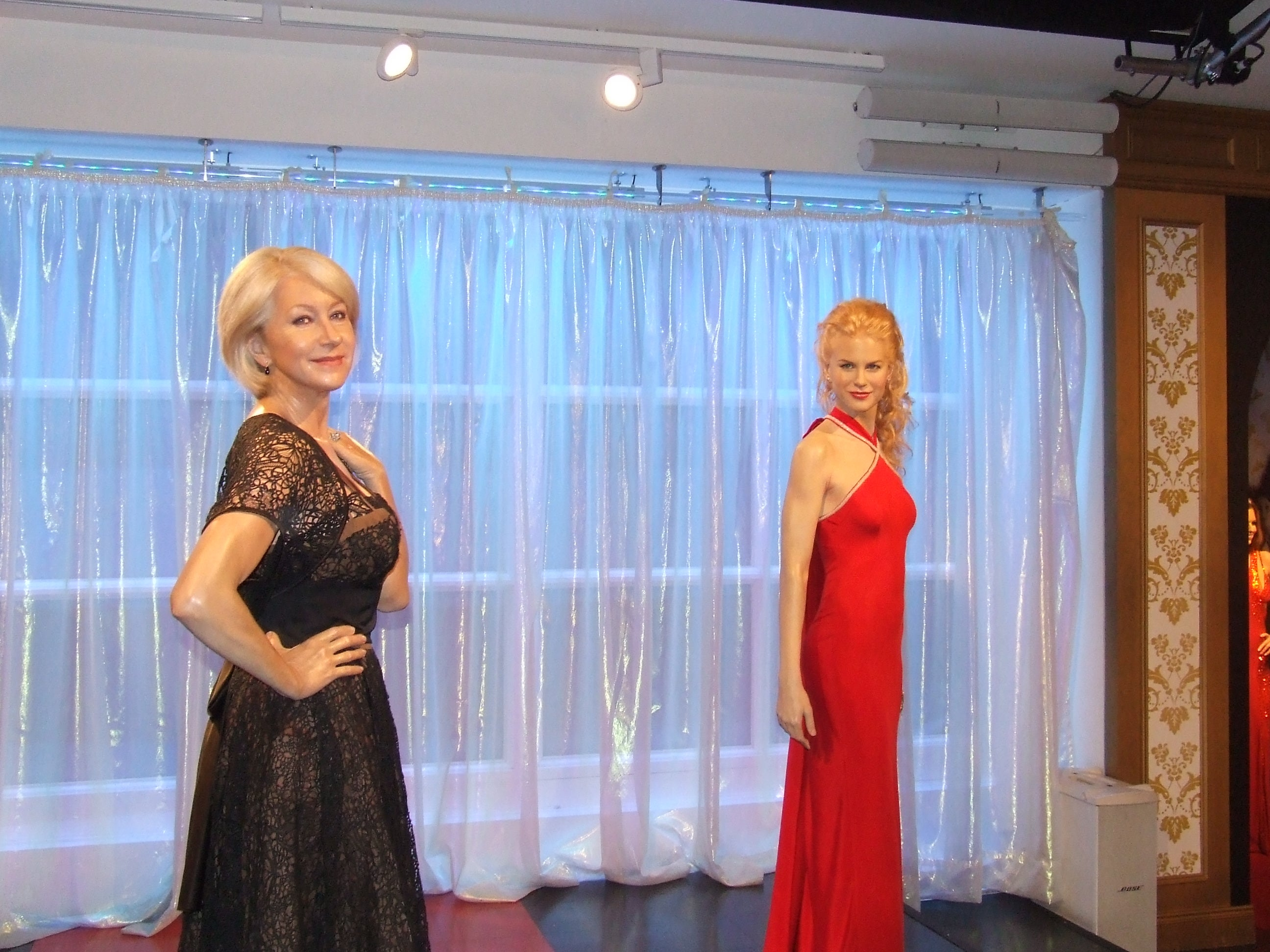 Escaparate en Museo Madame Tussauds
