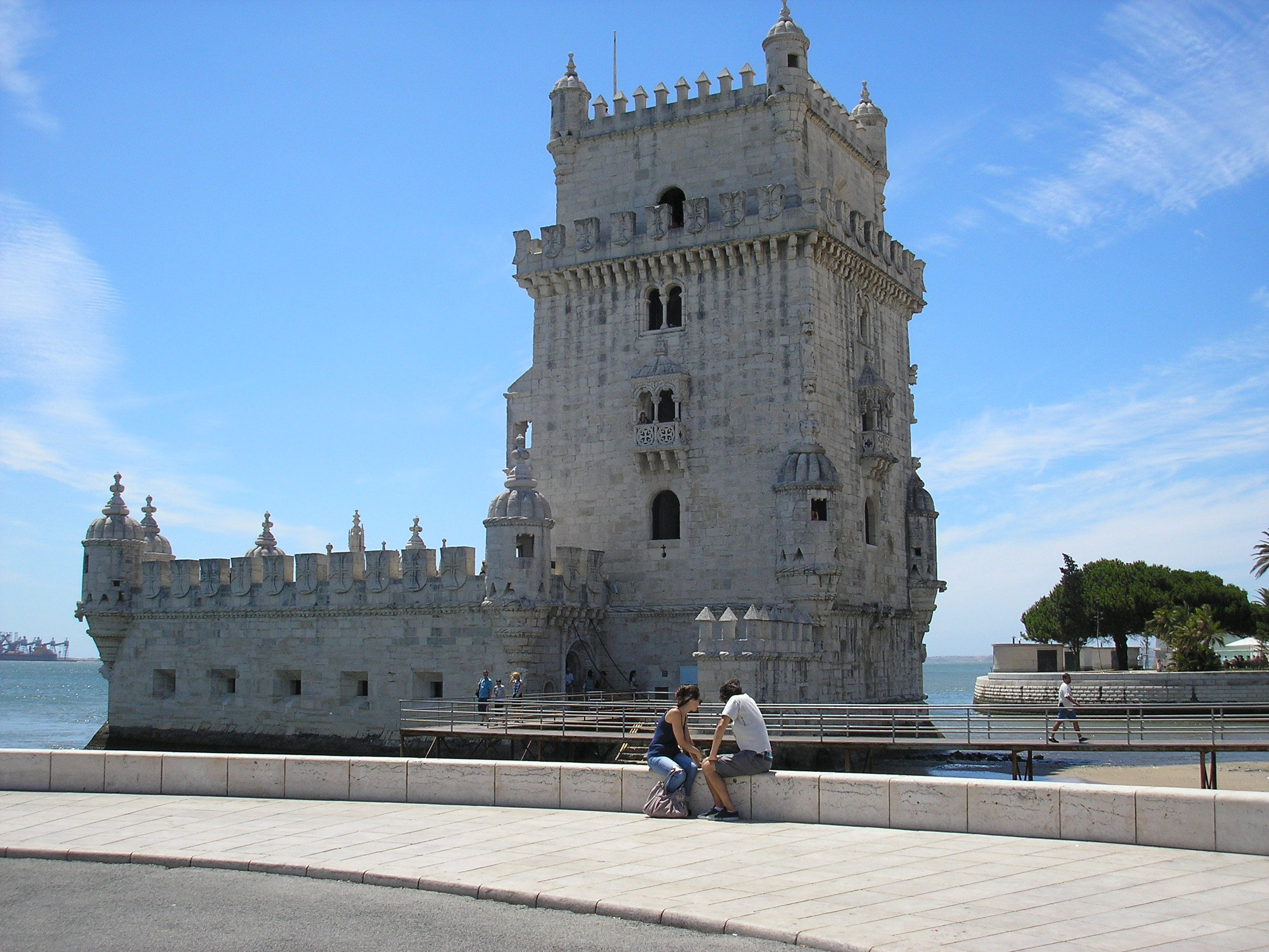 Square in Belém Tower
