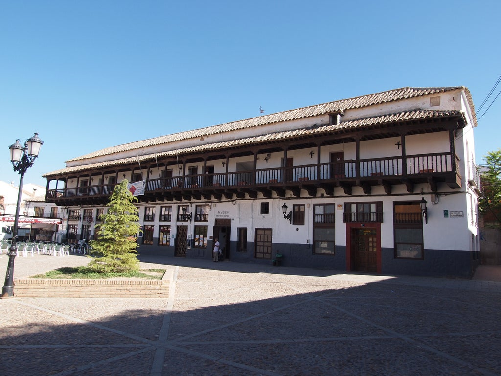 Plaza Mayor de Consuegra
