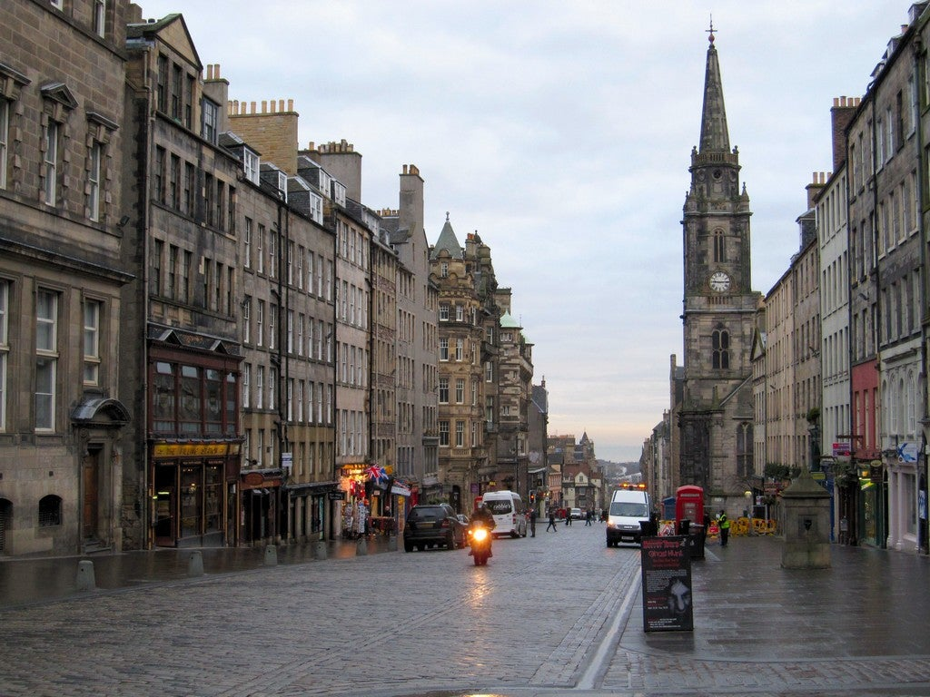 Arquitectura en Royal Mile