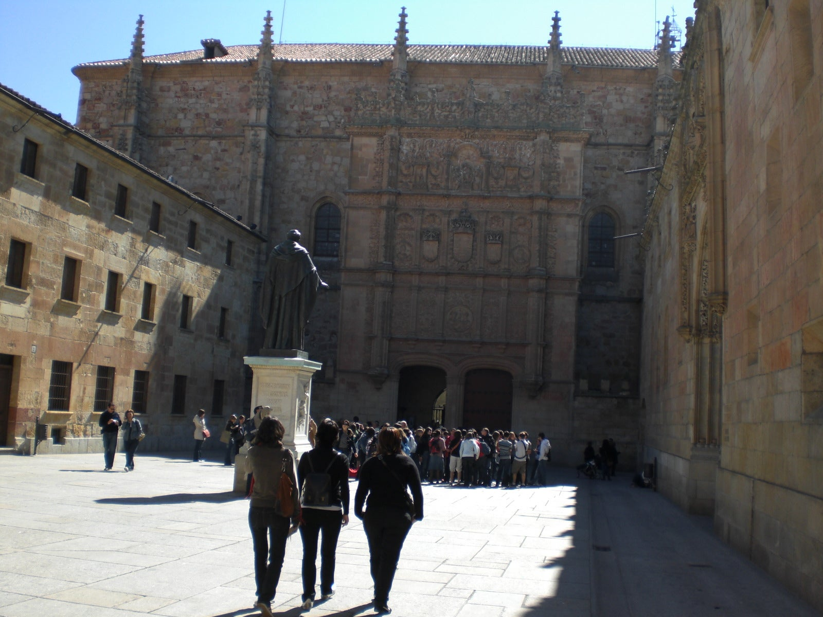 Pared en Universidad de Salamanca