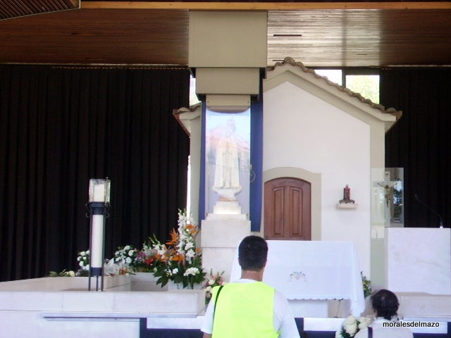 Interior Design in Basilica of Our Lady of the Rosary of Fatima
