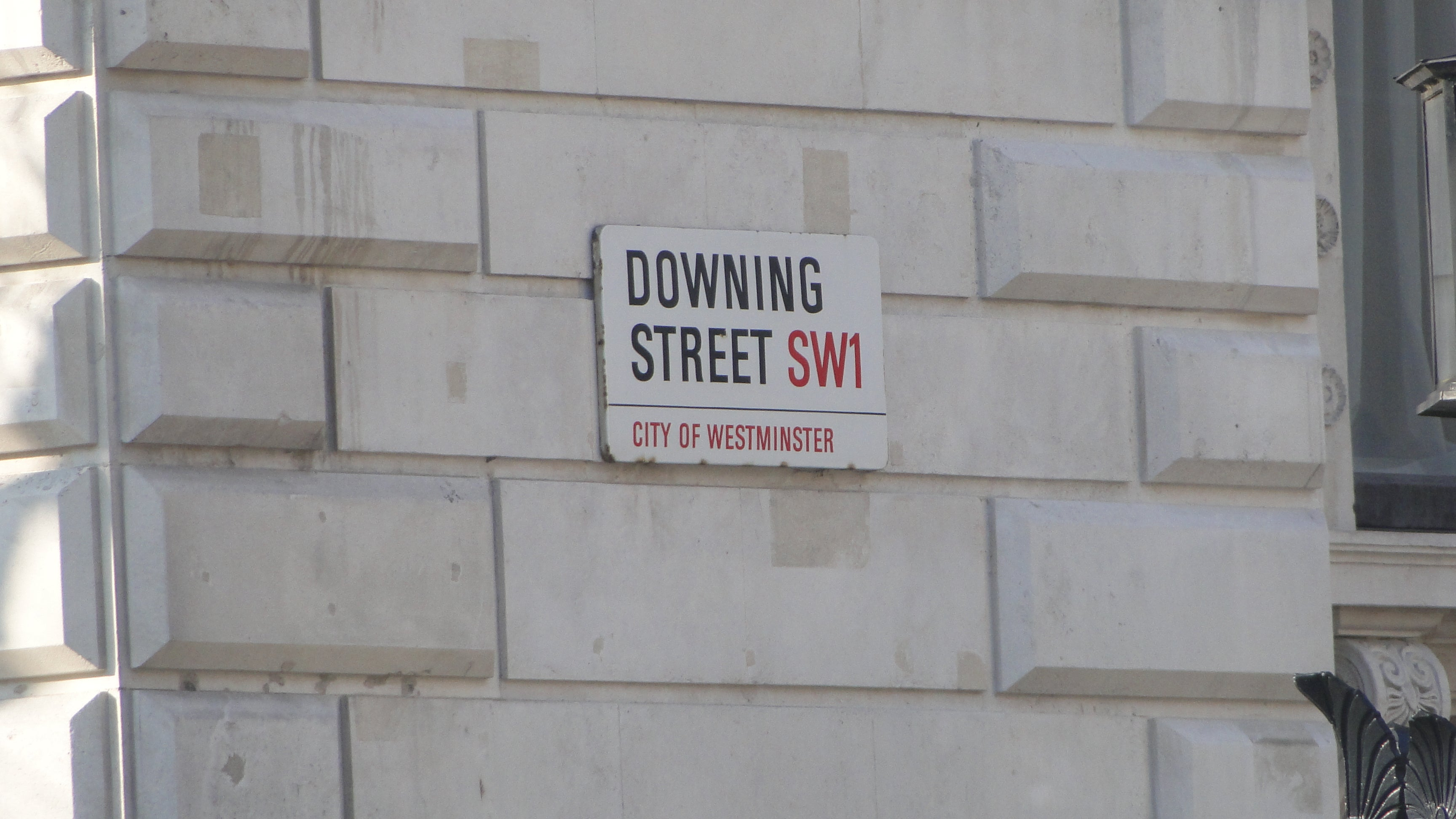 Pared en 10 Downing Street