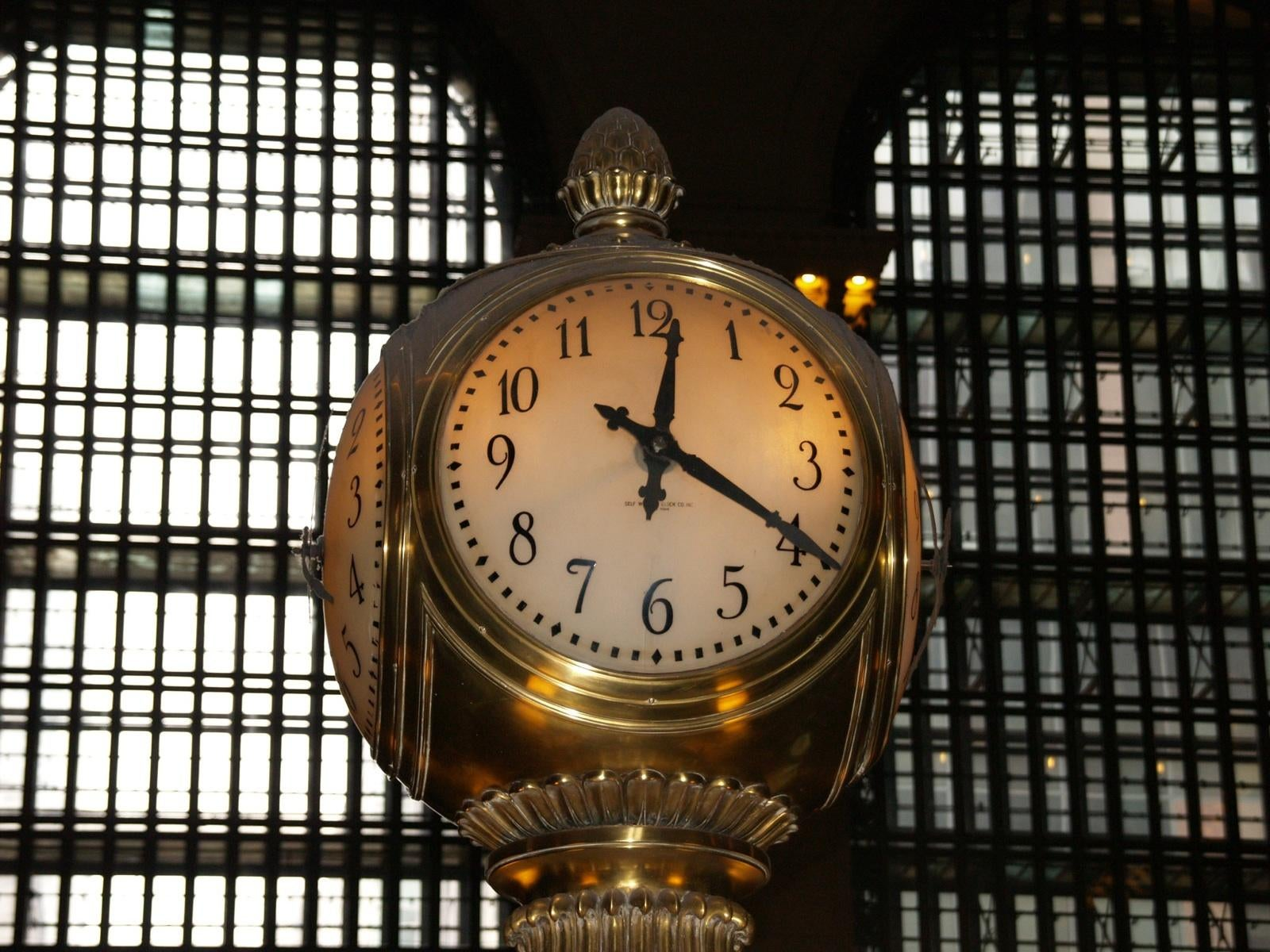 Reloj en Grand Central Station