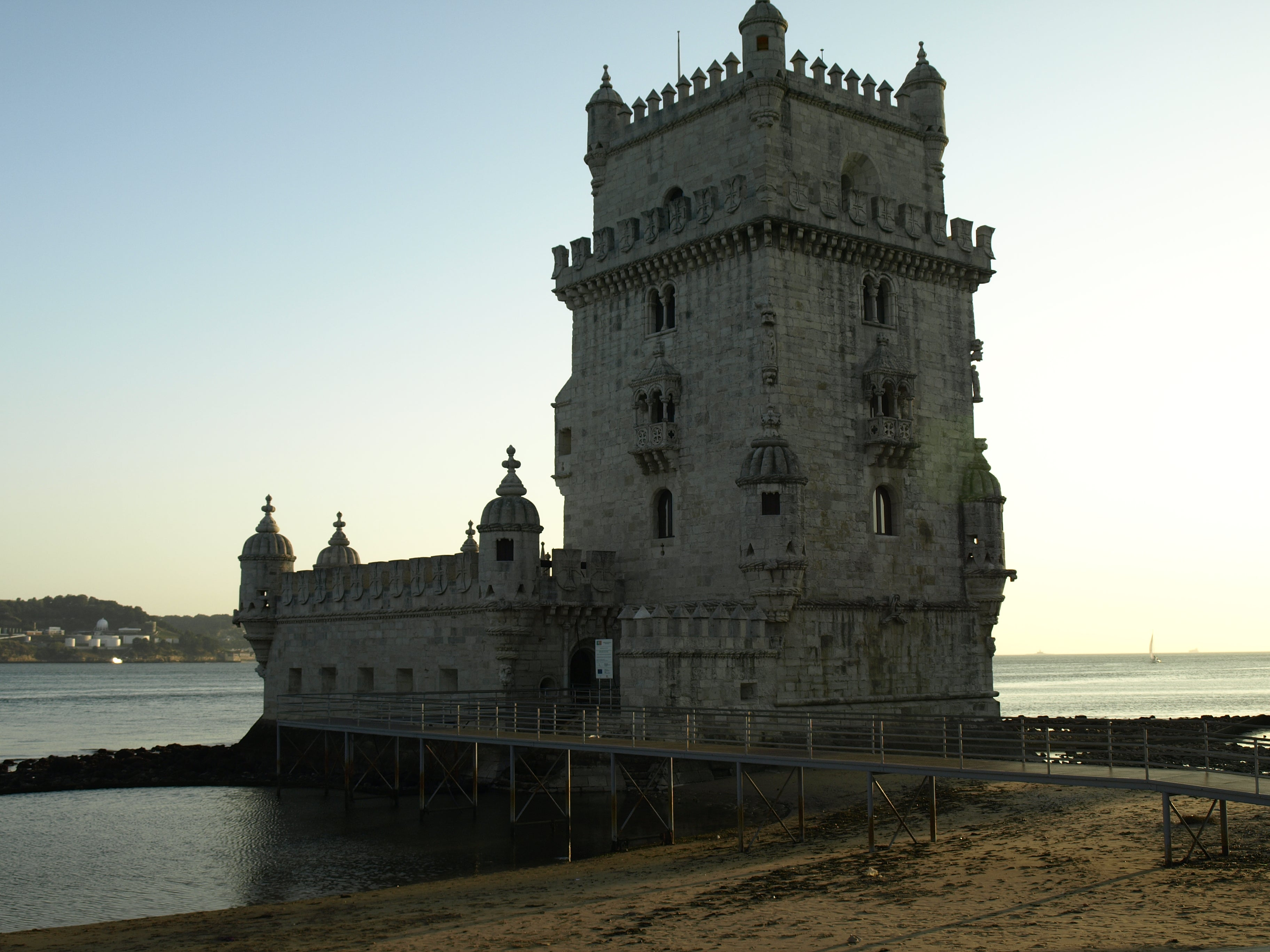 Ancient History in Belém Tower