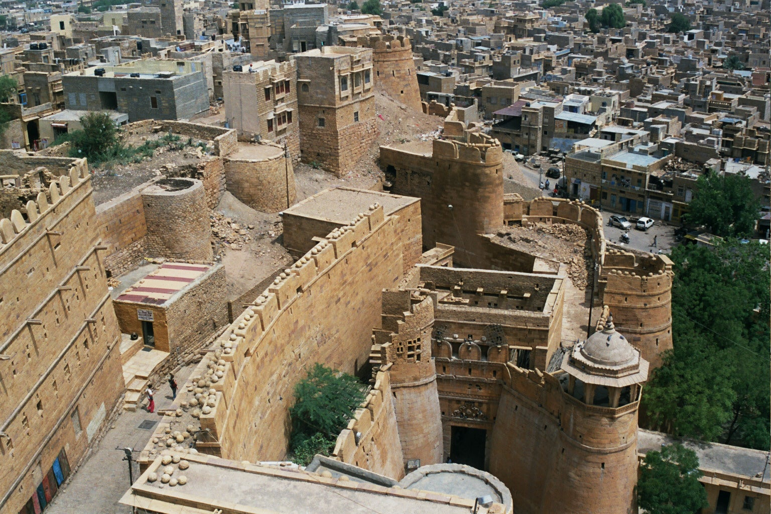 Top of the Jaisalmer Fort