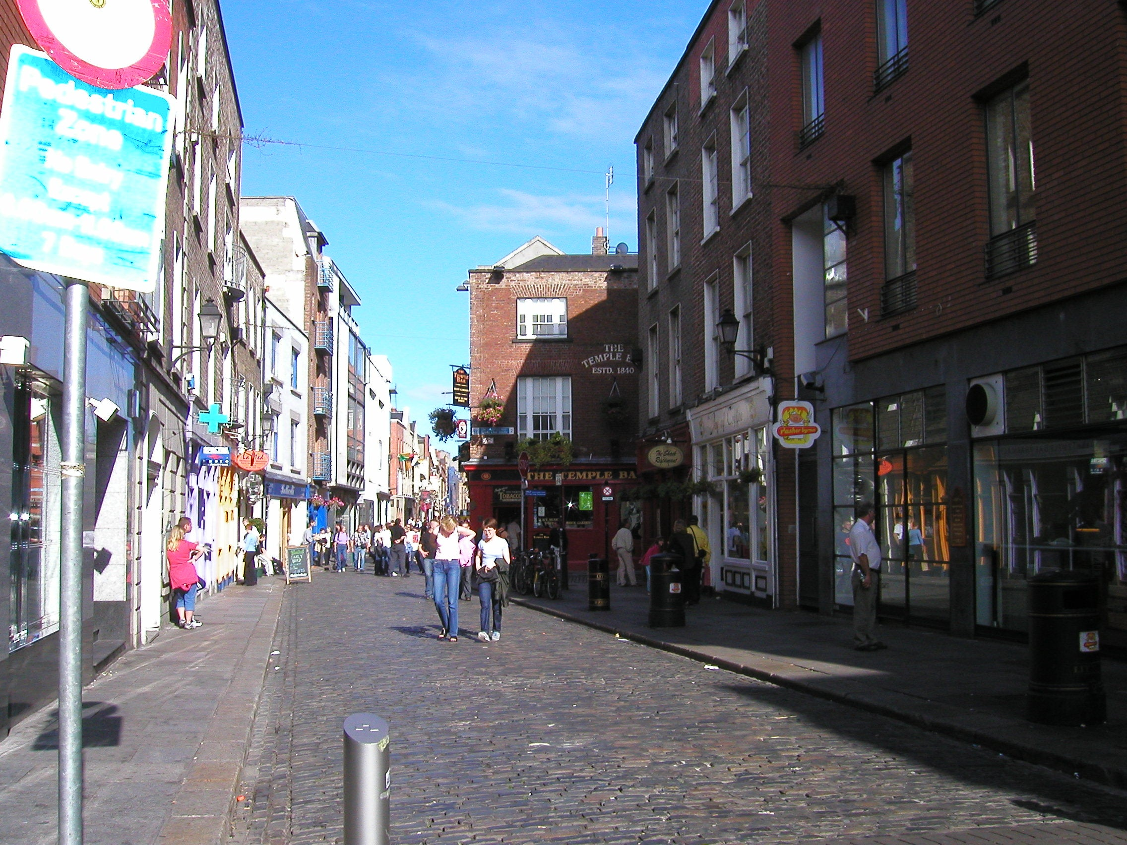 Compras en Temple Bar