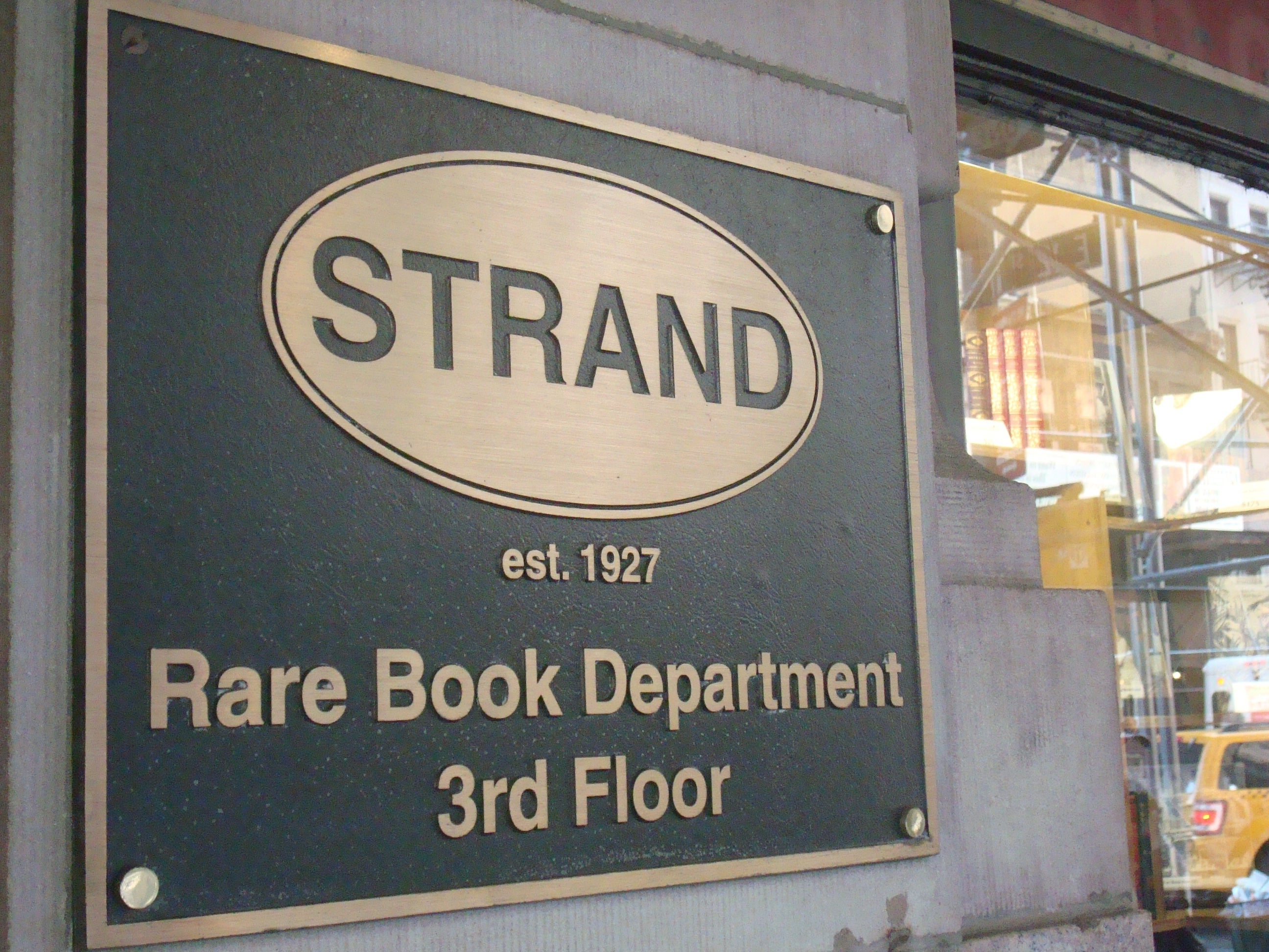 Taberna en The Stand Bookstore