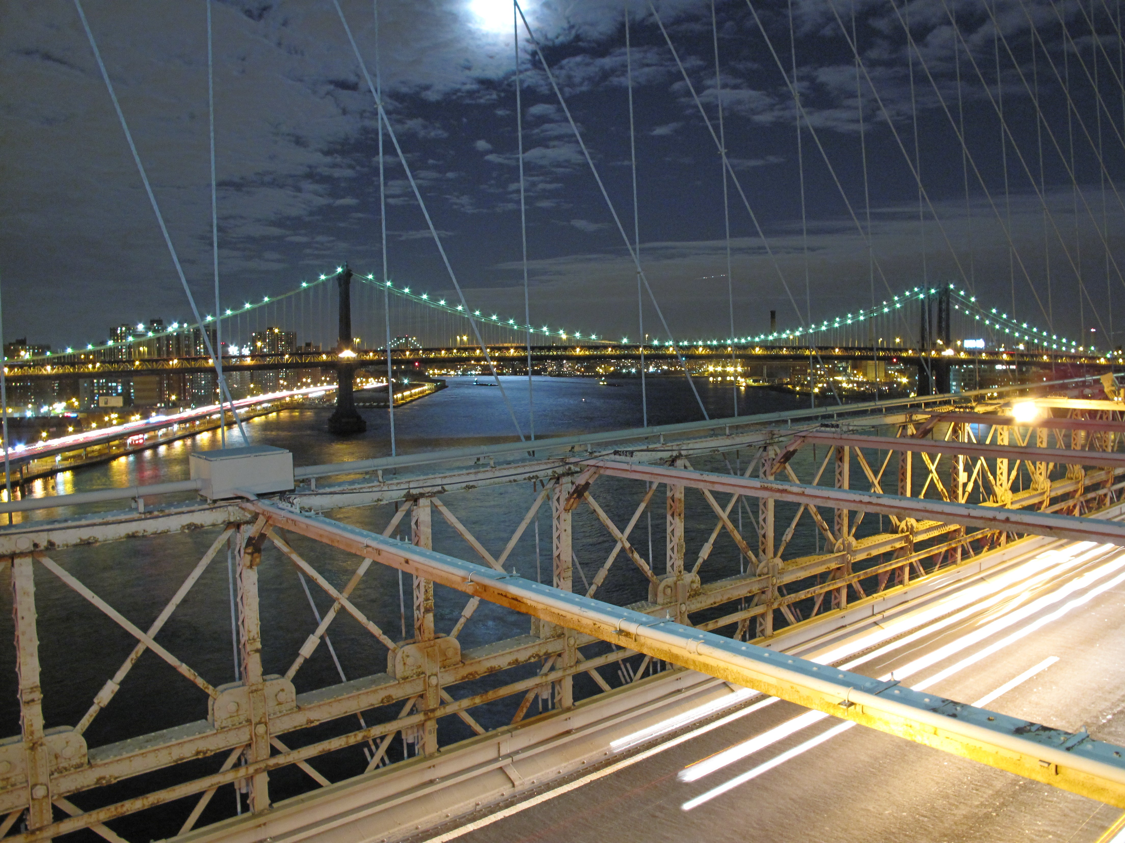 Transporte en Puente de Brooklyn