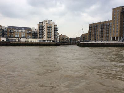limehouse link at Canary Wharf