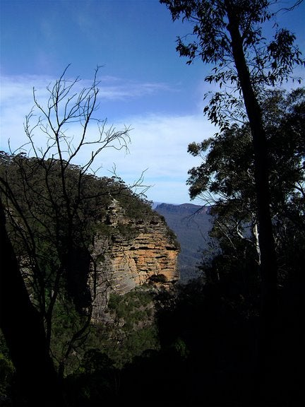 Anochecer en Parque nacional Blue Mountains