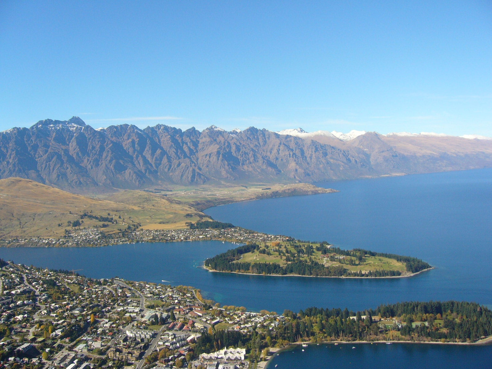 Masa de agua en Skyline Queenstown