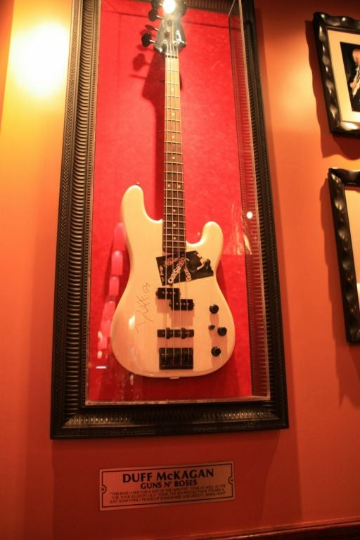 Guitarra en Hard Rock Café (Nueva York)