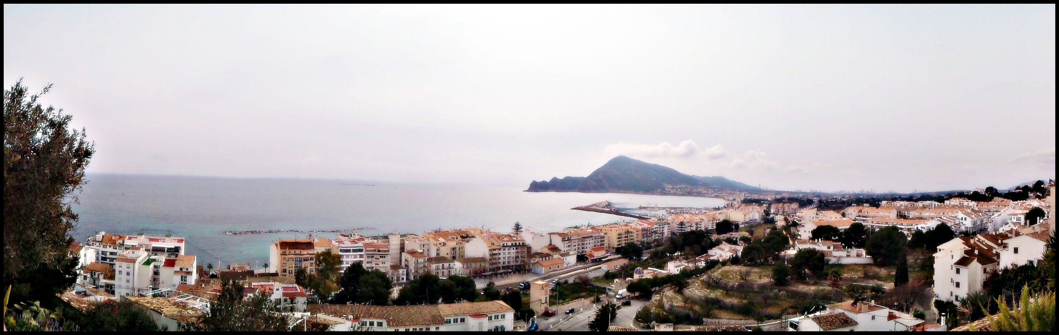 Skyline en Plaza de Altea