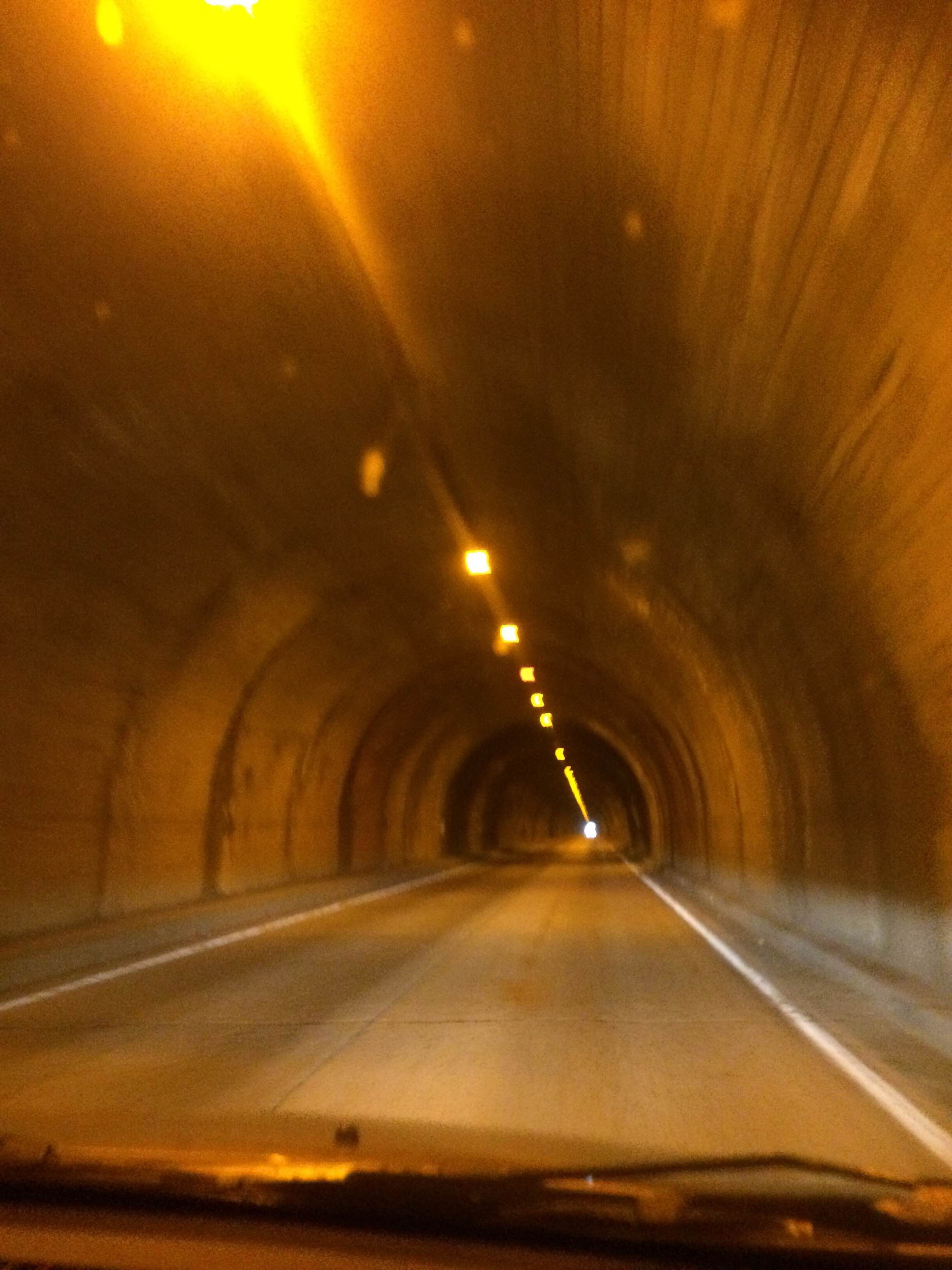 Túnel en Tunnel View