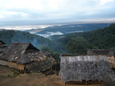 Akha Settlement of Nam Tha