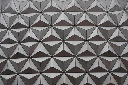 Flooring in Spaceship Earth at EPCOT