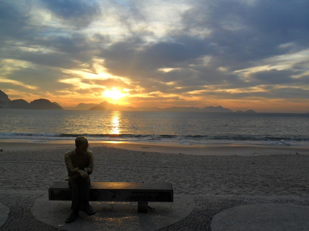 Mar en Copacabana