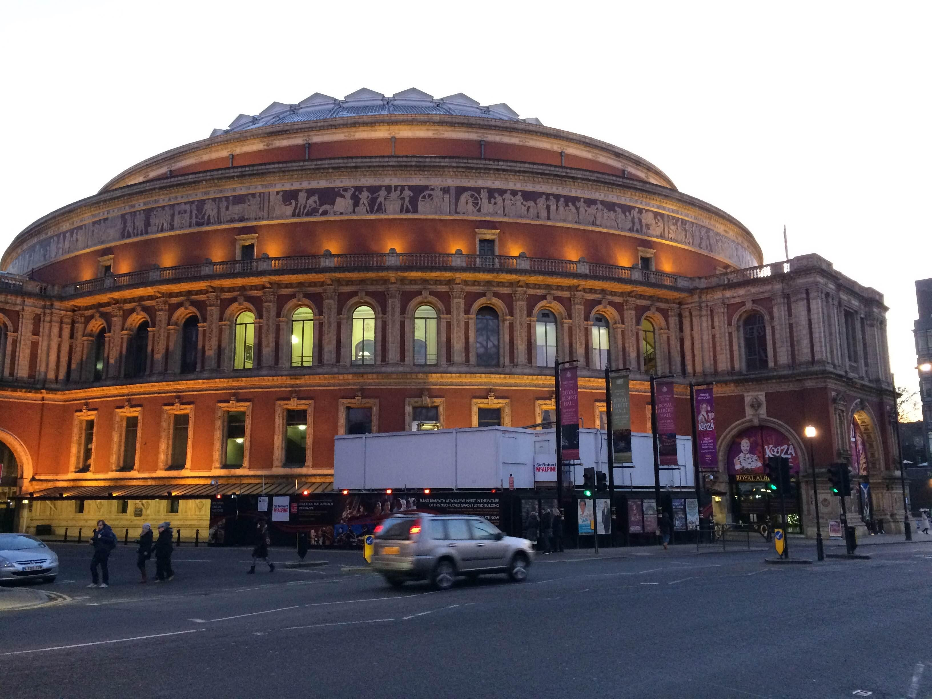 Arte en Royal Albert Hall