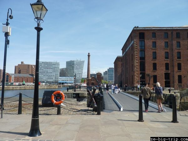 Paseo en Royal Albert Dock