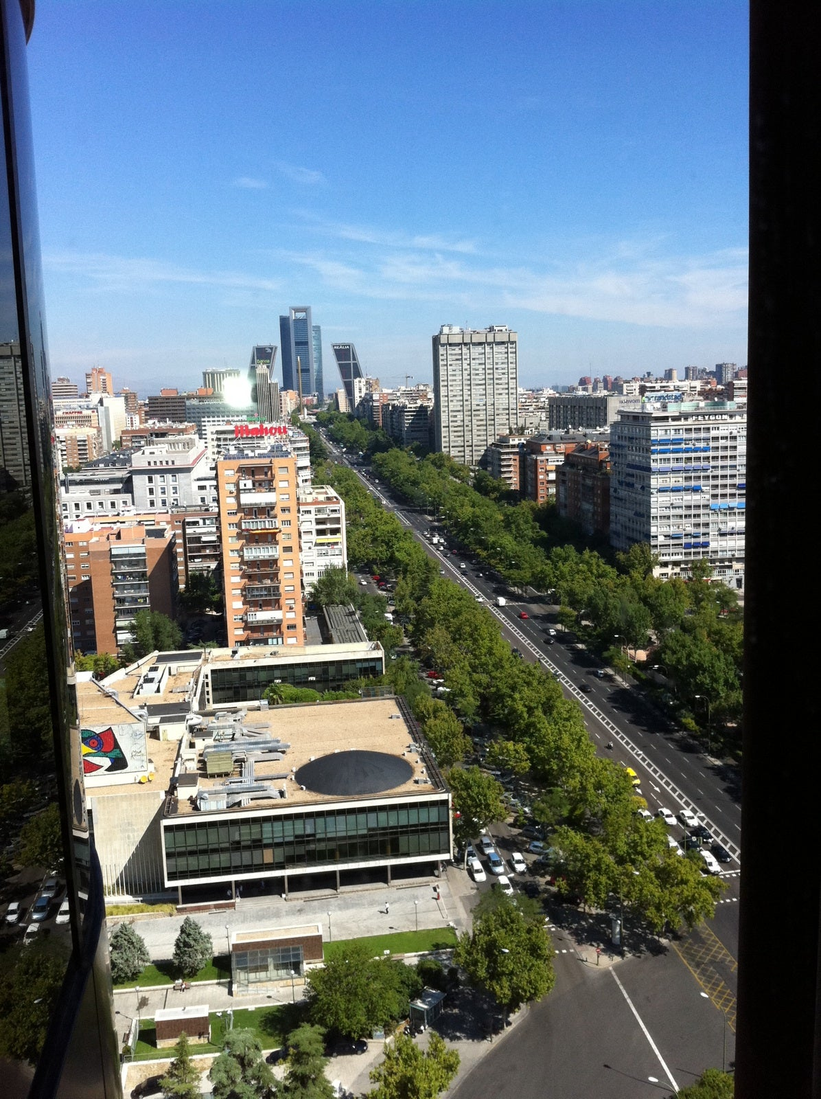 Skyline en Madrid