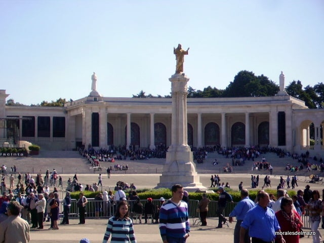 Basilica in Basilica of Our Lady of the Rosary of Fatima