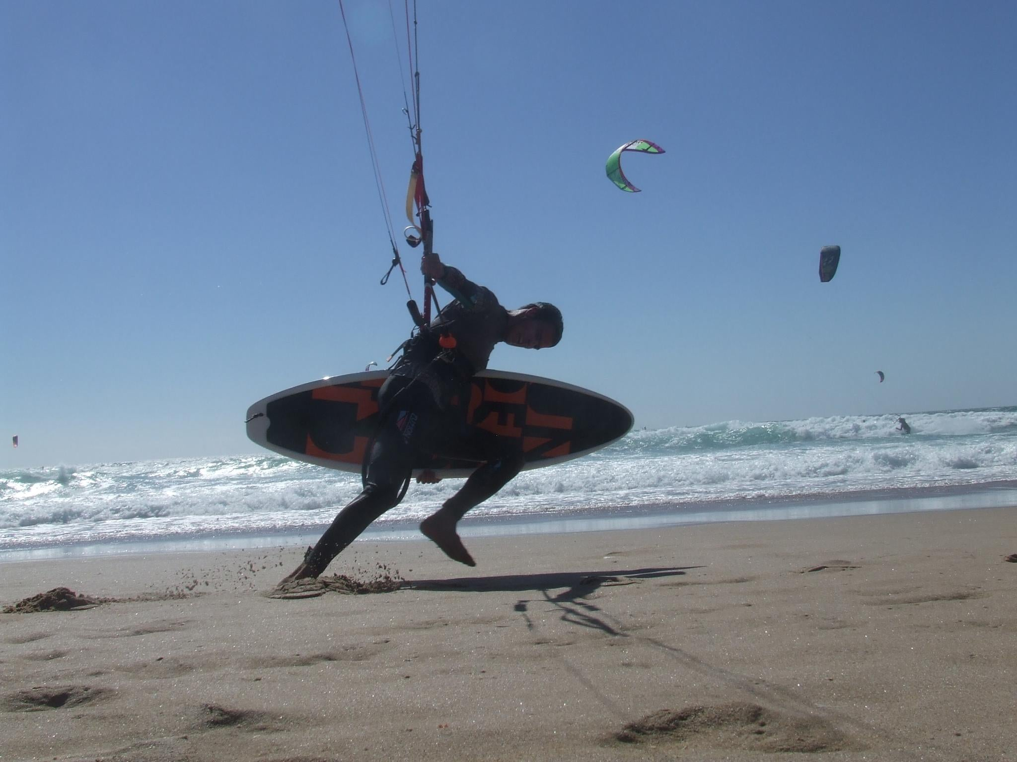 Kitesurfing en Playa do Guincho