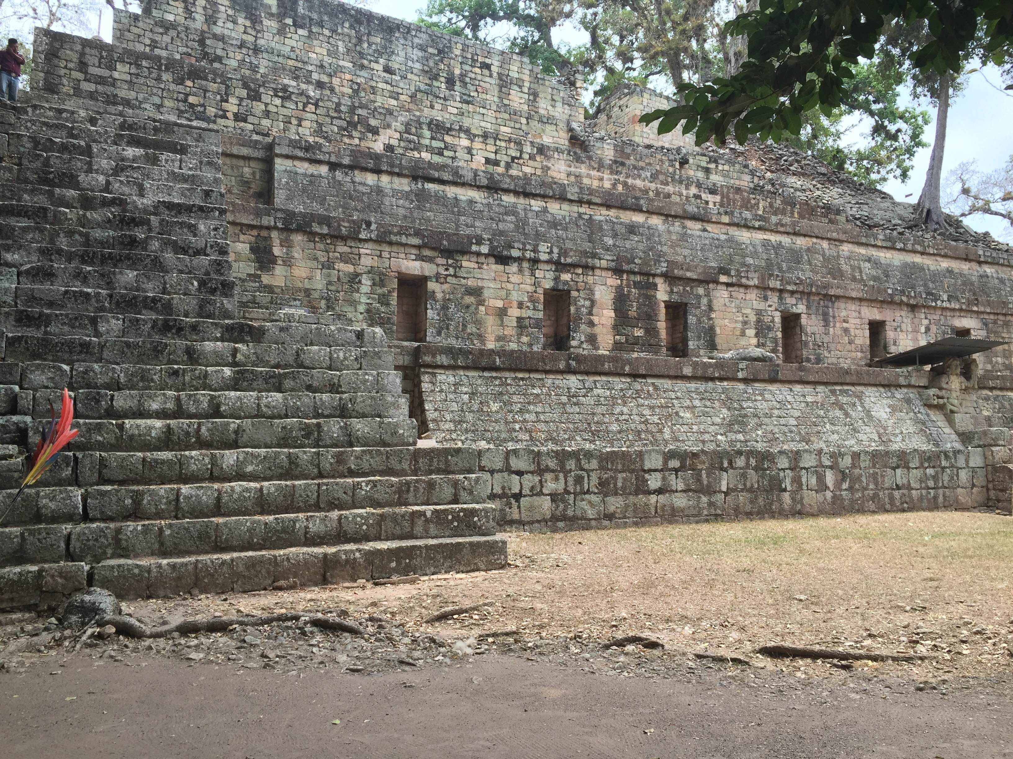 Pared en Ruinas de Copán