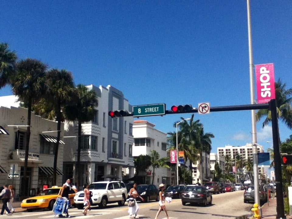 Downtown in Miami Beach