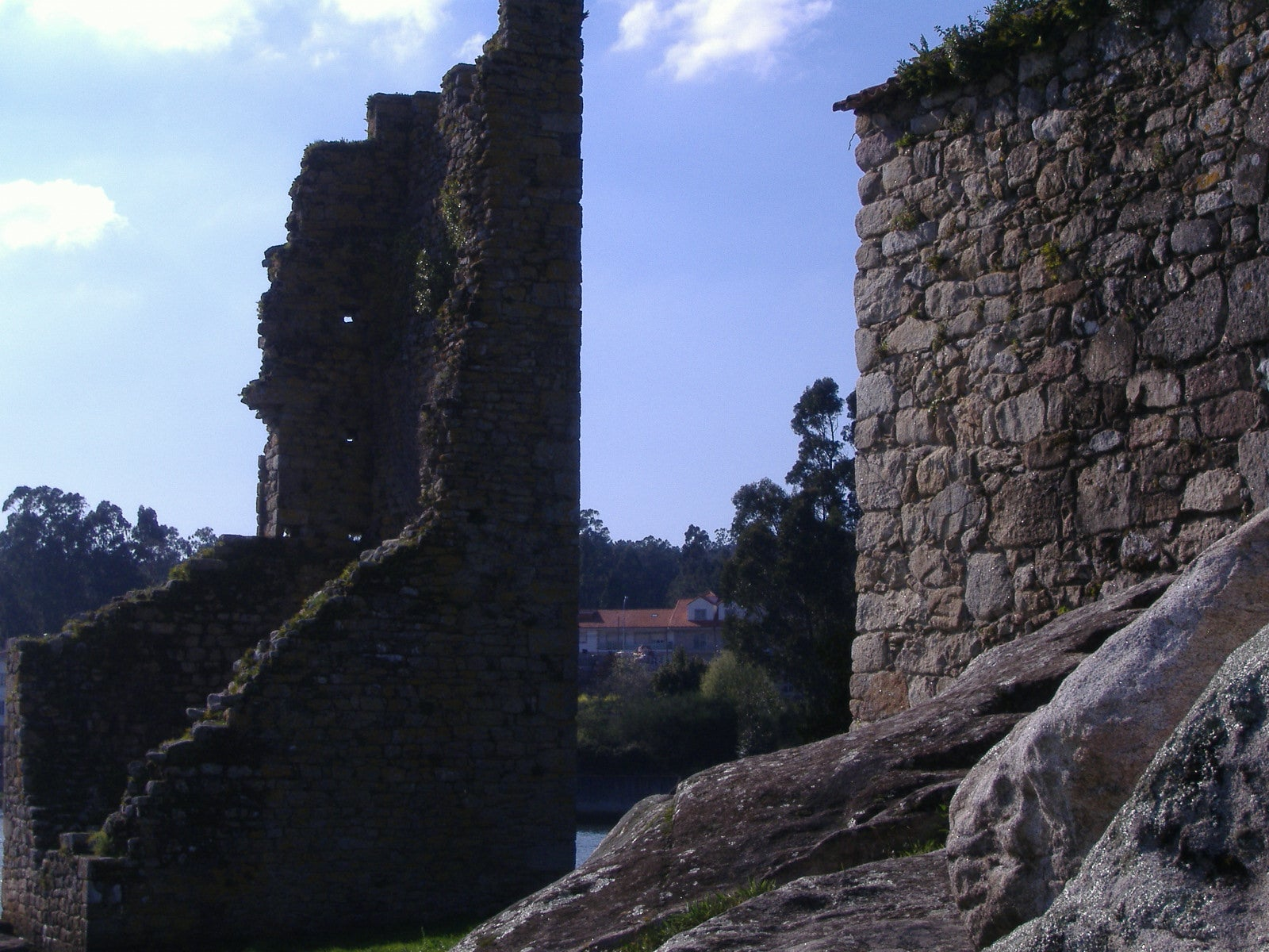 West towers