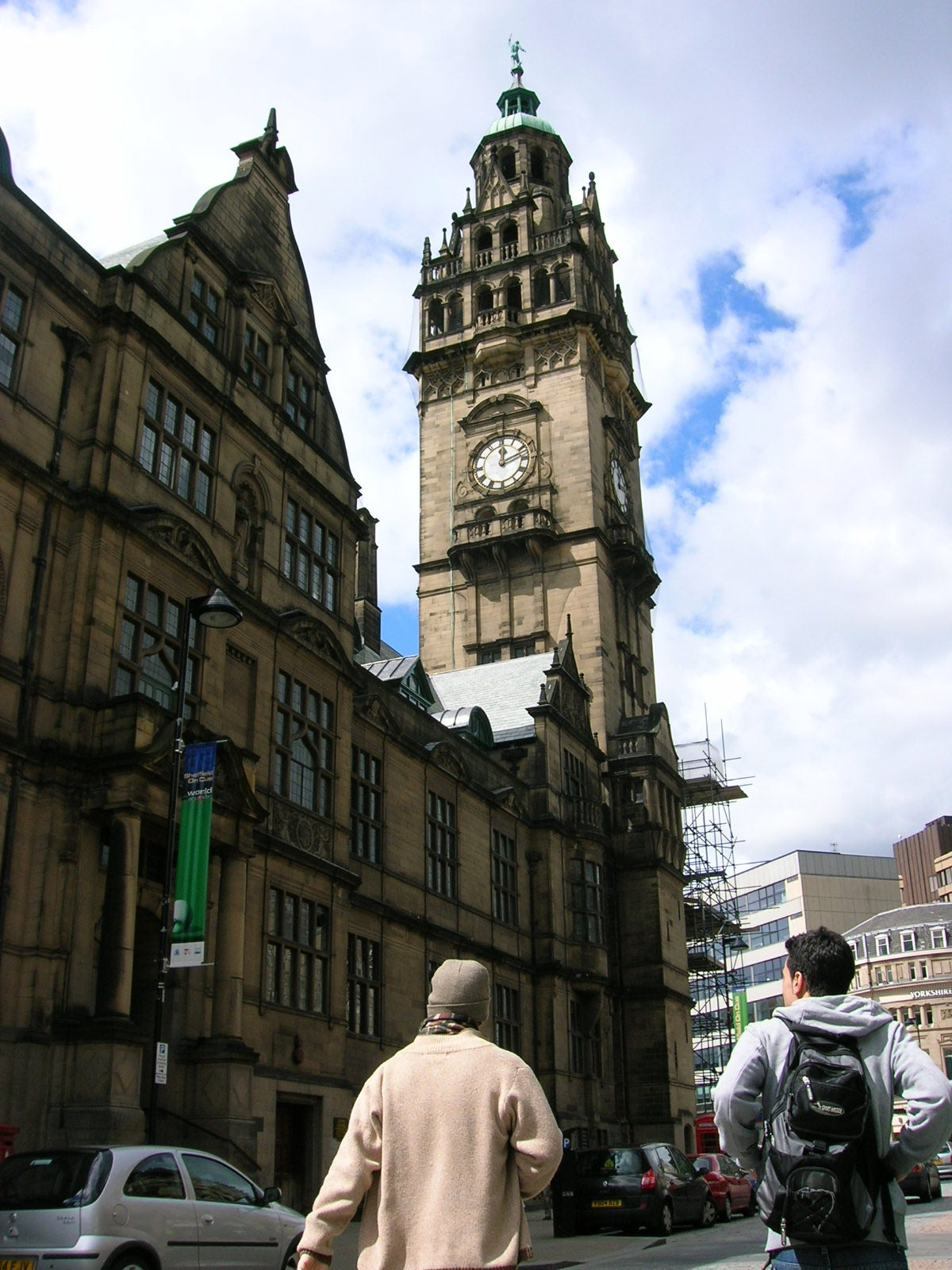 Pueblo en Sheffield