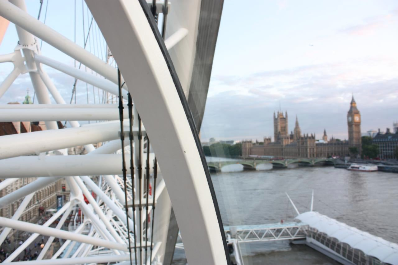 Carrera de yates en London Eye