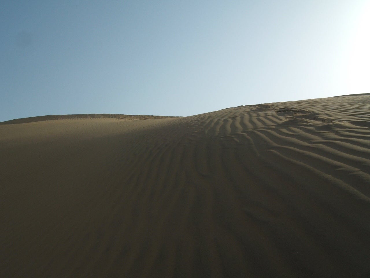 The Jaisalmer desert Dunes