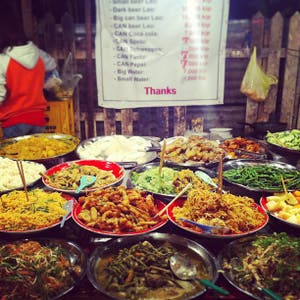 Night Market Vegetarian Buffet