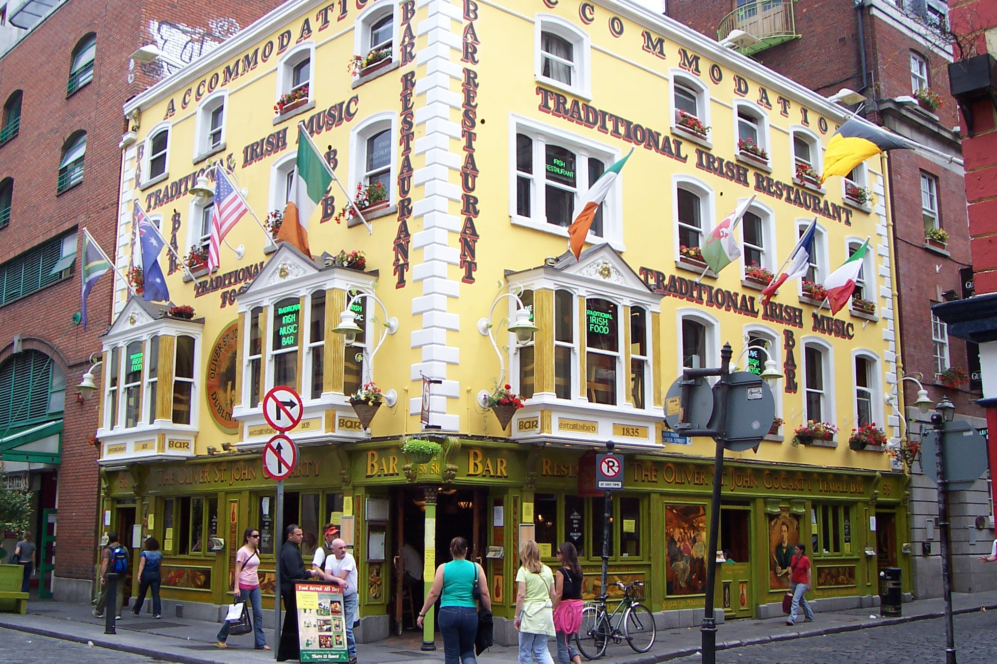Arquitectura en Temple Bar