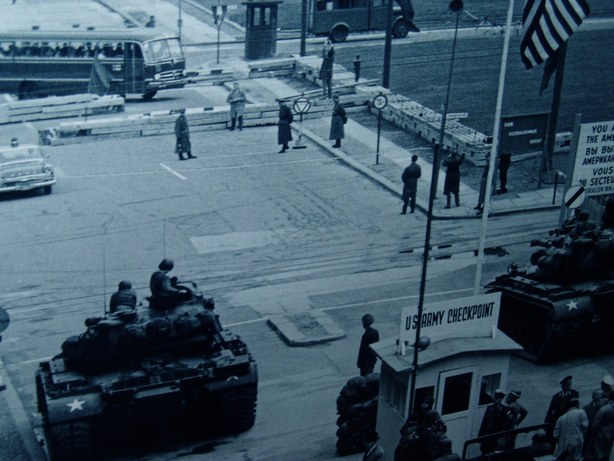 Mar en Checkpoint Charlie