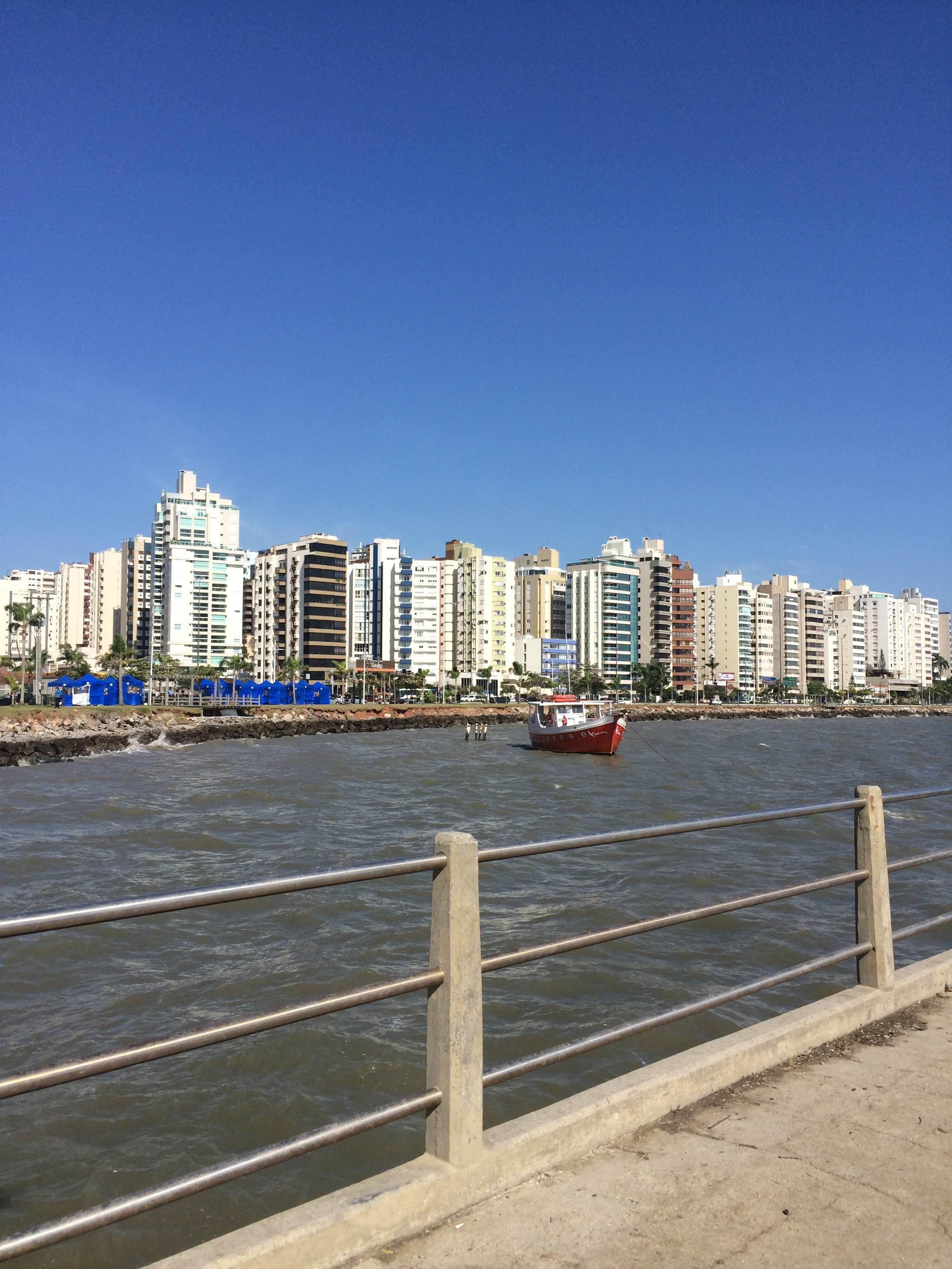 Skyline en Beira Mar Norte