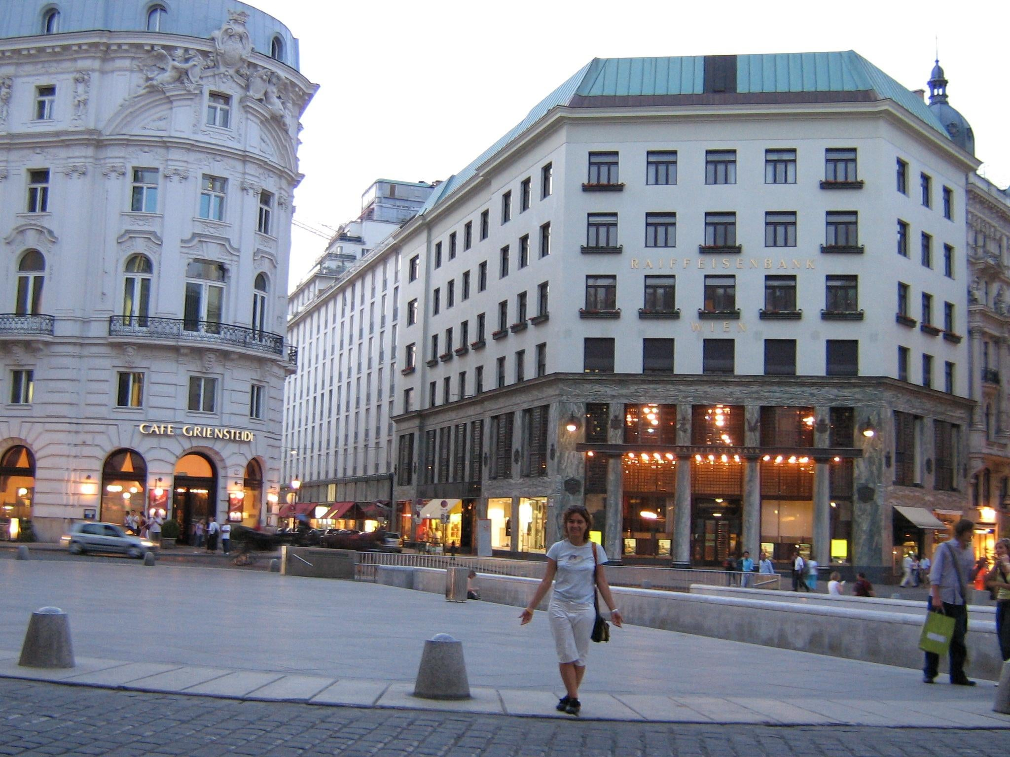 Plaza en Michaelerplatz