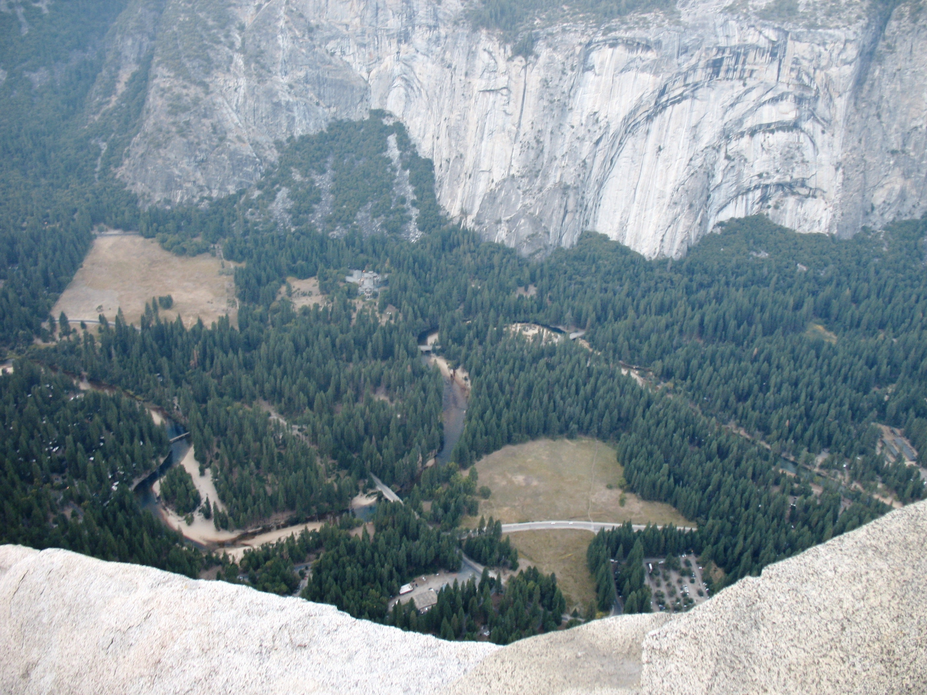Valle en Glacier Point
