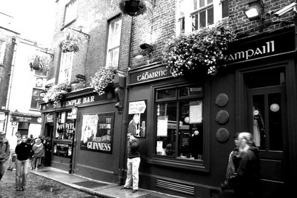 Blanco en Temple Bar