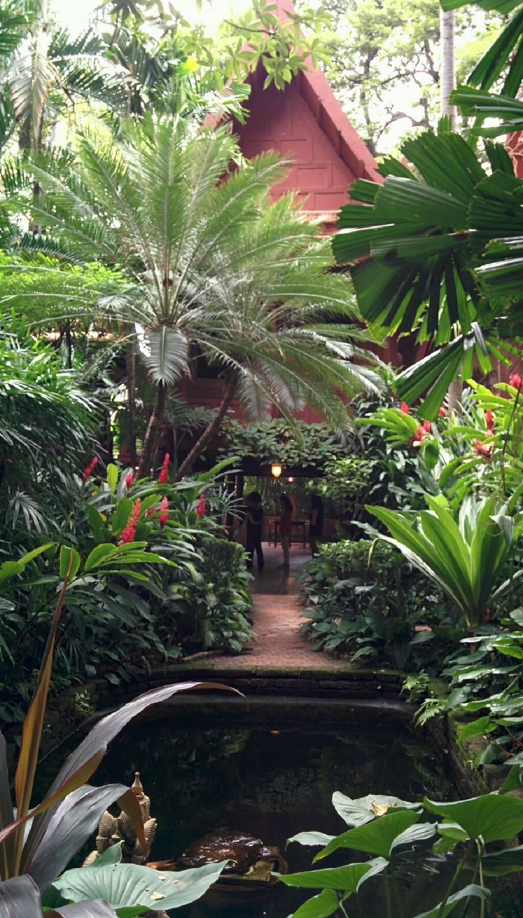 Selva en Casa de Jim Thompson