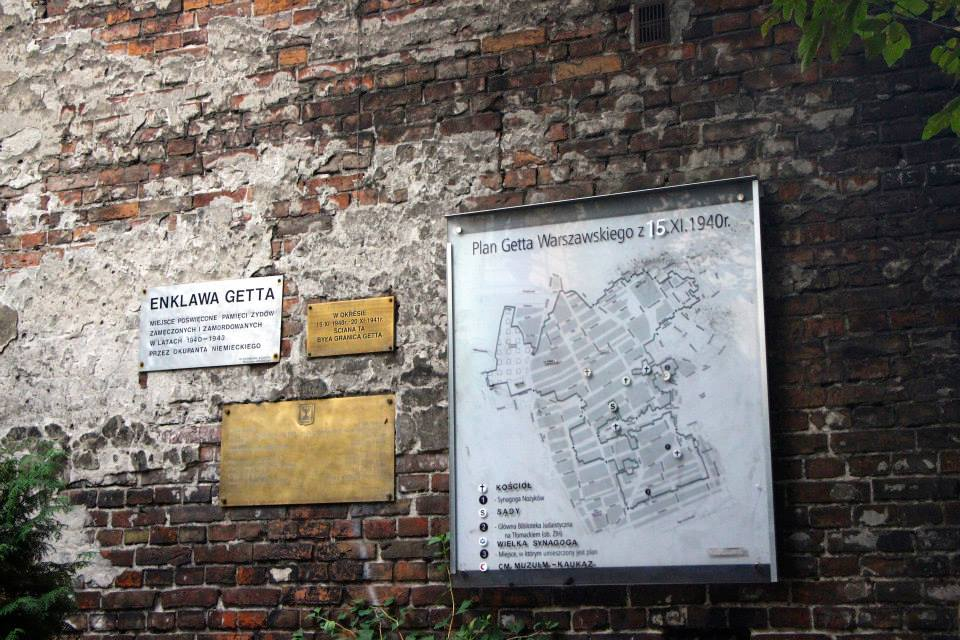The Warsaw Ghetto Wall