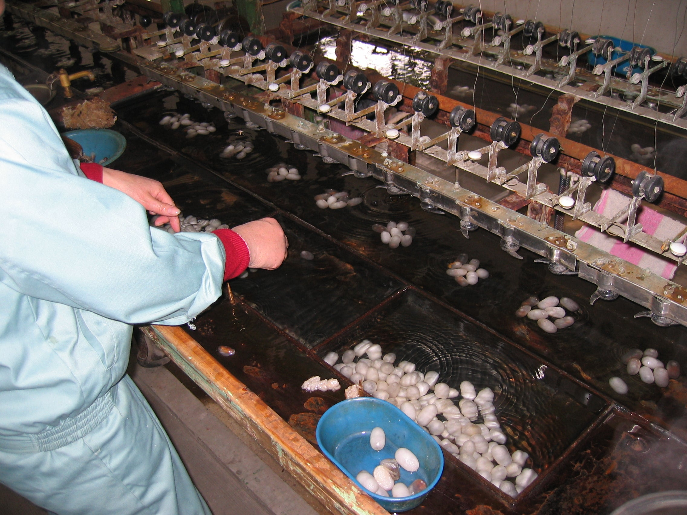 Manufactures of Silk