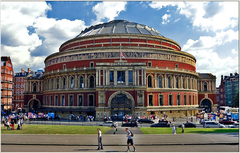 Nube en Royal Albert Hall